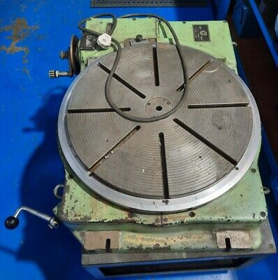 £140 • Buy 60cm 23.5  Manual Rotary Table With Wheeled Table.