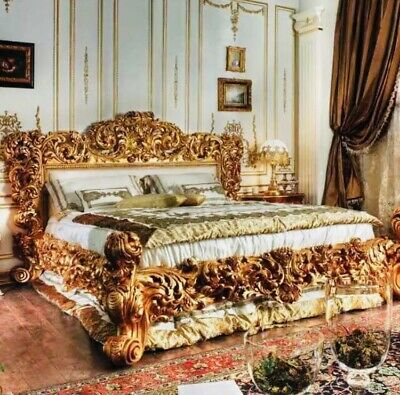 £8000 • Buy Baroque/ Rococo Style Luxury King Size Bed