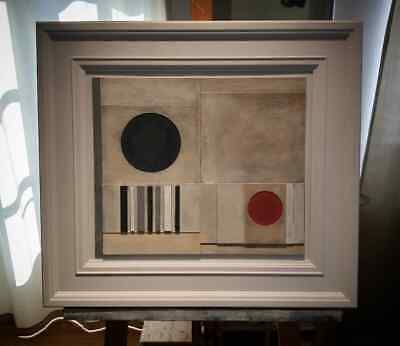 £348 • Buy Modern British Abstract Relief By Richard Witham - Ben Nicholson St Ives Style