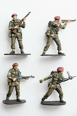 £40 • Buy 4 X Airfix 1/32 WWII British Paratrooper Conversions (Toy Soldiers)