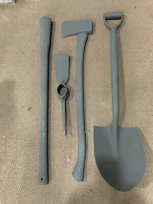 $150 • Buy Pioneer Set Military Issue Over 50 Sold Axe Shovel Pickaxe And Handle Tools Only