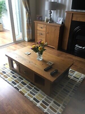 £80 • Buy Solid Oak Coffee Table With Drawers From Next