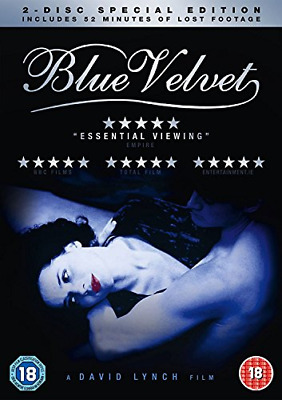£3.01 • Buy Blue Velvet Special Edition Inc Lost Footage (DVD) (2014) Isabella Rossellini