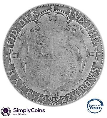£8.99 • Buy 1920 To 1936 George V Silver Half Crowns - Choice Of Year / Date
