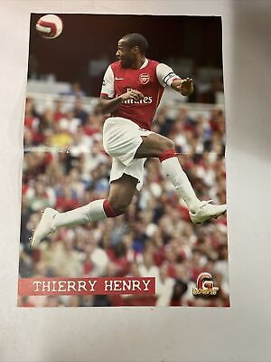 £1.71 • Buy Poster THIERRY HENRY ARSENAL Calcio 26x40 Collezione