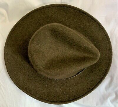 $45 • Buy New Stetson Expedition Crushable Wool Felt Western Hat, Size M.