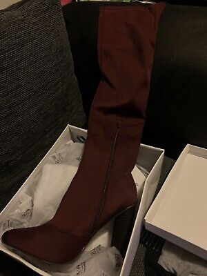 £9.99 • Buy W.S Shoes Womens Long Boots Size 37 So UK 4.5-5 Brand New And Never Worn