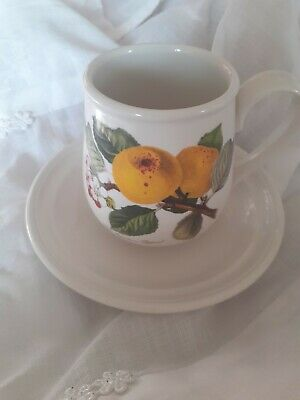 £3.20 • Buy Portmeirion Pomona Coffee Cup & Saucer The Ingestrie Pippin *Rare*