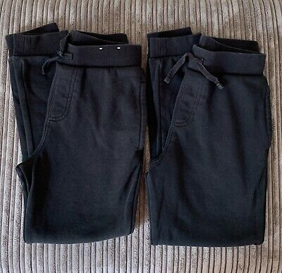 £5 • Buy Two Pairs - Black Jogging Bottoms Age 8-9 Years George Unisex School PE Joggers