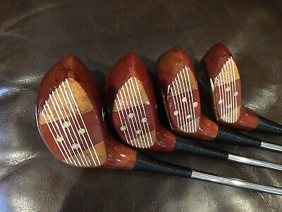 $249 • Buy Vintage Macgregor Tommy Armour 693T Persimmon Wood Set