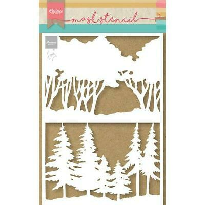£3.49 • Buy Marianne Design A5 Mask Stencil - Tiny's Forest PS8100