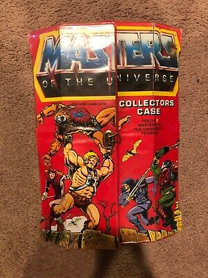 $50 • Buy Masters Of The Universe Collectors Lot With Case And 8 Figures