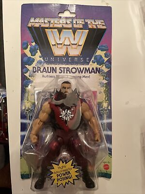 $33.49 • Buy MATTEL WWE Wrestling Masters Of The WWE Universe Braun Strowman Action Fig New