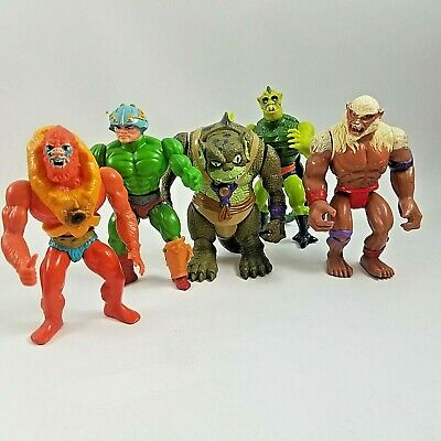 $39.99 • Buy Lot Of 5 1980's Action Figures MOTU Masters Of The Universe And ThunderCats