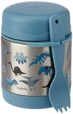 AU24.95 • Buy NEW My Family Insulated Food Jar - Dino T-Rex - Hot Food Thermos Container
