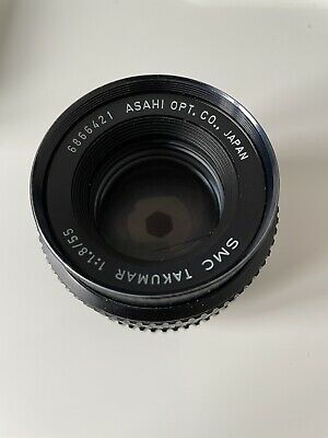 £9.99 • Buy SMC Takumar 55mm F1.8 In M42 Mount. Excellent Condition