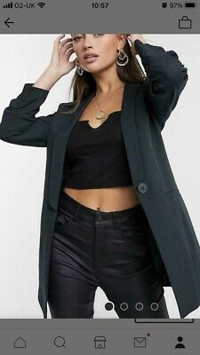 £26.40 • Buy Forest Green Tailored Suit ASOS Size 10 Trousers Blazer