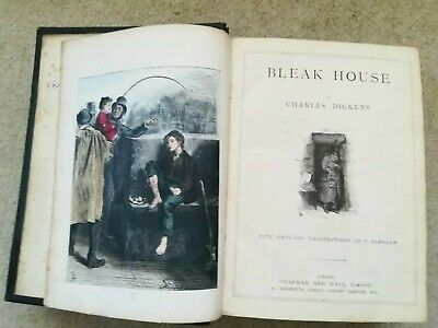 £15 • Buy Bleak House, Little Dorrit & Pickwick Papers By Charles Dickens All In One Book