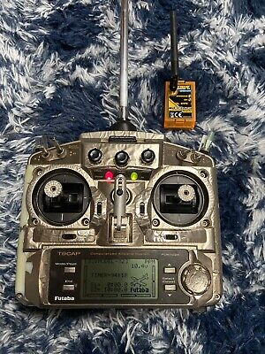 $120 • Buy Futaba T9CAP 9 Ch Transmitter 72 MHz Channel 23 With Extra Ezuhf Module  433 MHz