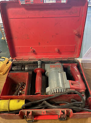£74.99 • Buy Hilti TE-17 110V Rotary Hammer Drill With Carry Case. Tested And Working