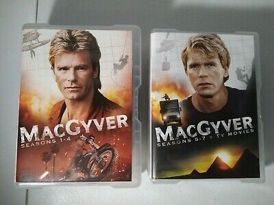 $40 • Buy Macgyver Complete Original TV Series On DVDs With 2 TV Movies