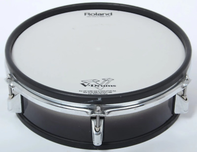 """AU413.78 • Buy Mesh Drum Pad Roland 12"""" PD-125BK SNARE Electronic Black Fade Dual Zone Trigger"""
