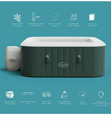 £659.99 • Buy Lay Z Spa Ibiza 6 Person Airjet Hot Tub Brand New   FAST FREE POSTAGE