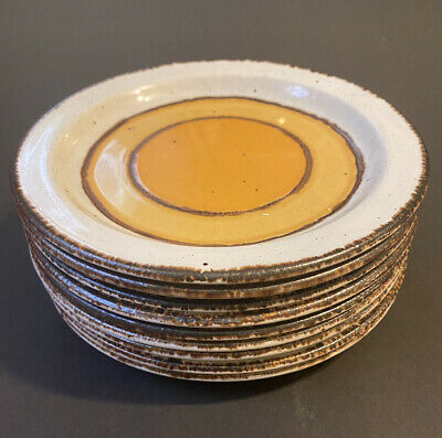 £9.14 • Buy 9 AVAILABLE Vintage STONEHENGE MIDWINTER SUN 7' Bread & Butter Plates 12.50 Each