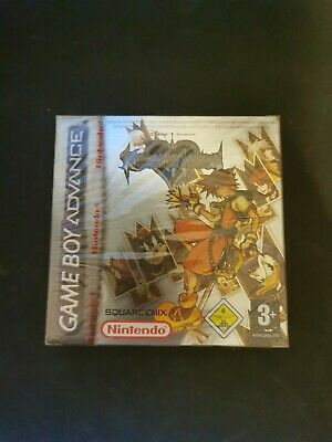 £152.78 • Buy Kingdom Hearts Chain Of Memories Gameboy Sealed Red Strip
