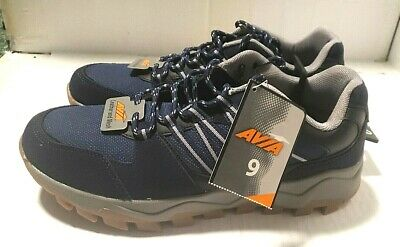 £28.75 • Buy Mens Avia Theo Blue Gray Trail Running Hiking Shoes Sneakers Nwt Sz 8.5,8.5,9,10