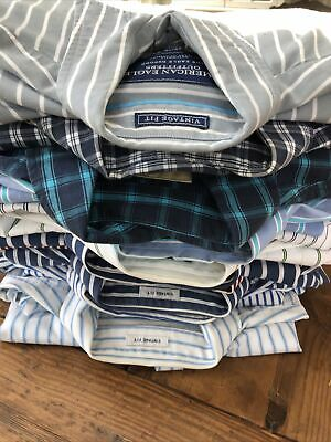 $29.50 • Buy American Eagle Dress Shirts Lot Of 11: 7 Small 1 XS. 2 Hollister Med Tom Hilf ++