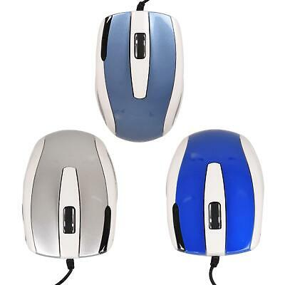 £3.99 • Buy Wired Usb Optical Mouse For Pc Acer Dell Mac Laptop Computer Scroll Wheel Mice