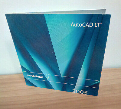 £41.73 • Buy Autodesk AutoCAD LT 2005 Software CD With Serial Number Windows XP/2000 Design
