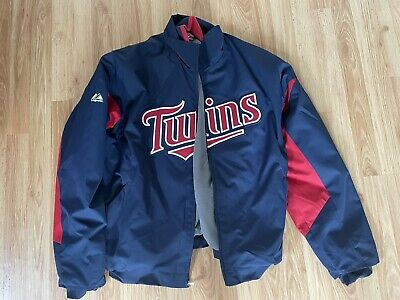 $14.20 • Buy Mens Authentic Minnesota Twins Lined Jacket, Large