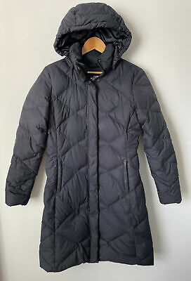 £86.52 • Buy The North Face Womens Sz Small S Miss Metro Black 550 Down Hooded Parka Coat