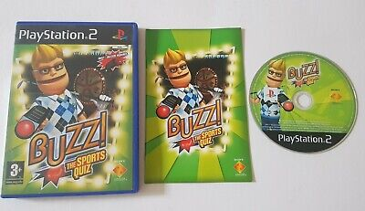 £3.95 • Buy Buzz The Sports Quiz Ps2 Playstation Game Only No Buzzers Gift Present Complete
