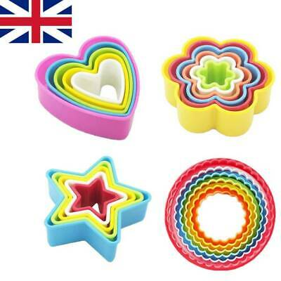 £5.99 • Buy 5/6Pack Cookie Scone Cutters Edge Crinkle Round Cake Pastry Bake Mould Set UK