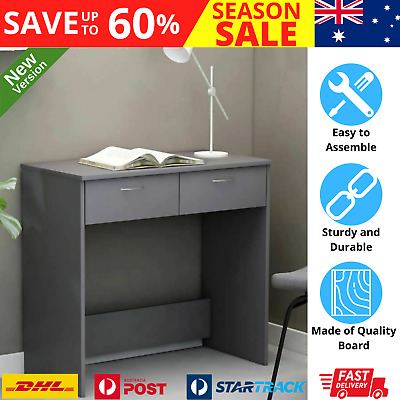 AU70.24 • Buy Desk With Drawers Compact Home Office Computer Workstation Laptop Writing Table
