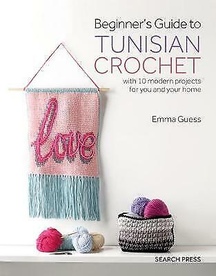 £8 • Buy BEGINNERS GUIDE TO TUNISIAN CROCHET 10 Projects For You And Your Home