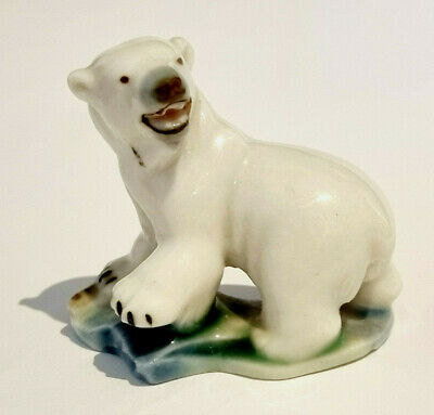 £1.04 • Buy WADE 1950s POLAR BEAR First Whimsies Set Six 1956-1959 Polar Animals ~ Excellent