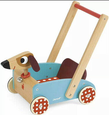 £20 • Buy Janod - Wooden Walker For Children Crazy Doggy - For Children From The Age Of 1,