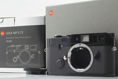 £3797.53 • Buy *cla'd Top Mint+++* Leica Mp 0.72 35mm 10302 Black Paint Rangefinder From Japan