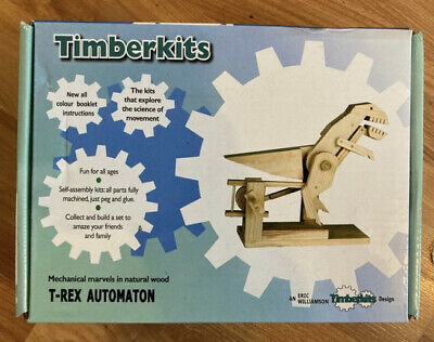 £4.99 • Buy Brand New Timberkits T-Rex Automaton.Fun For All Ages From 9-90 Years