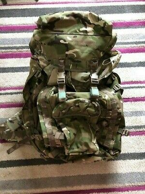£50 • Buy British Army MTP Shortback Bergen Day Sack With Side Pouches Included