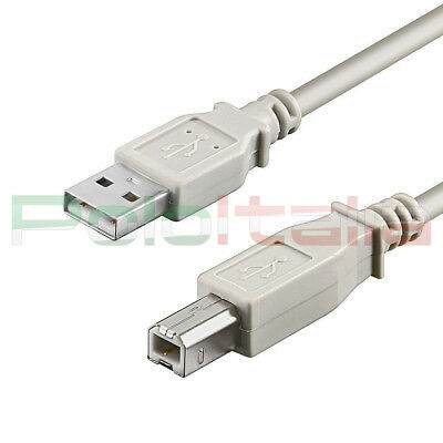 AU19.26 • Buy Cable 10m USB 2.0 Type /B Extension For Printer Data PC External Hard Drive 10mt