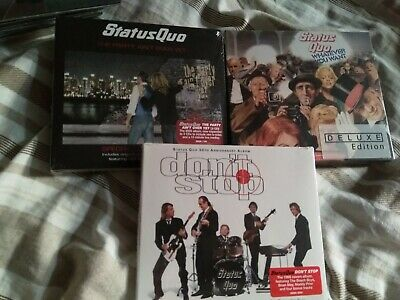 £9.99 • Buy Status Quo Special Edition CDs X 3 Job Lot Sealed.