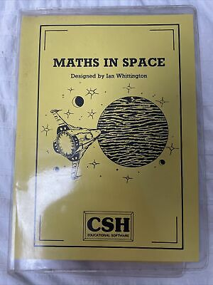 £0.99 • Buy BBC Micro Acorn Computer Game 1989 CSH MATHS IN SPACE