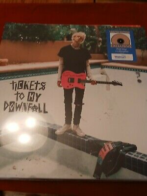 """$29.99 • Buy MACHINE GUN KELLY """"Tickets To My Downfall"""" NEW And SEALED Pink Vinyl LP!"""
