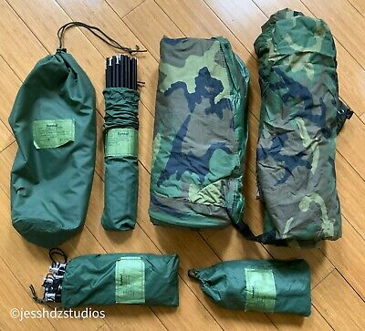 $325 • Buy Us Military Tcop One Man Improved Combat Shelter Tent