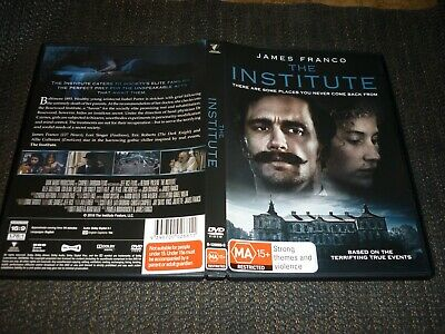 AU9.95 • Buy The Institute - James Franco / Based On A True Story (dvd, Ma15+) (166647 A)
